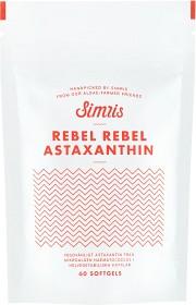 Bild på Simris Rebel Rebel Astaxanthin 60 kapslar