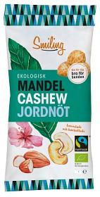 Bild på Smiling Mandel Cashew Jordnöt 50 g
