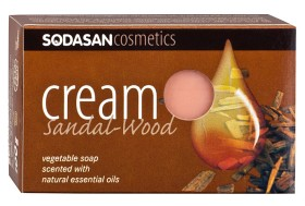 Bild på Sodasan Cream Soap Sandalwood 100 g