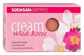 Bild på Sodasan Cream Soap Wild Roses 100 g