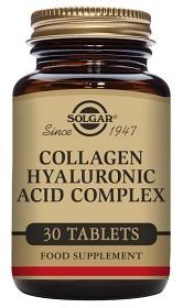 Bild på Solgar Collagen Hyaluronic Acid Complex 30 tabletter
