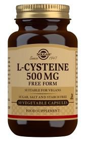 Bild på Solgar L-Cystein 500 mg 30 kapslar