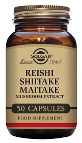 Bild på Solgar Reishi-Shiitake-Maitake 50 kapslar