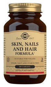 Bild på Solgar Skin, Nails & Hair 120 tabletter