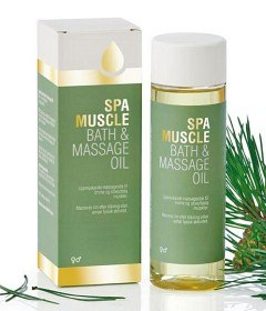 Bild på Spa Muscle Bath & Massage Oil 150 ml