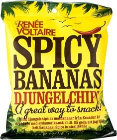 Bild på Spicy Bananas Djungelchips 85 g