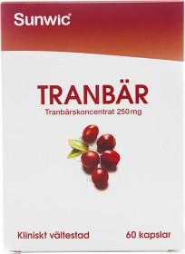 Bild på Sunwic Tranbär 60 kapslar