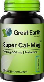 Bild på Great Earth Super Cal-Mag 300 mg 300 mg 120 kapslar