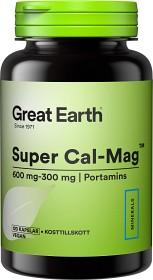 Bild på Great Earth Super Cal-Mag 600/300 mg 120 kapslar