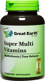 Bild på Great Earth Super Multi Vitamins Extra 90 tabletter