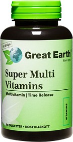 Bild på Great Earth Super Multi Vitamins Regular 90 st