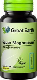 Bild på Great Earth Super Magnesium 375 mg 100 tabletter
