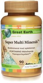 Bild på Great Earth Super Multi Minerals 90 tabletter
