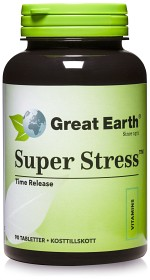 Bild på Great Earth Super Stress 600, 90 tabletter