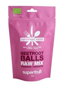 Bild på Superfruit Foods Beetroot Balls Raw Mix 200 g