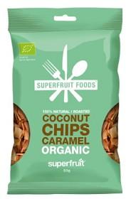 Bild på Superfruit Foods Kokoschips Karamell 50 g
