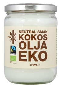 Bild på Superfruit Foods Kokosolja Neutral 500 ml