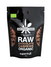 Bild på Superfruit Foods Raw Chocolate Cashews 100 g