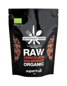 Bild på Superfruit Foods Raw Chocolate Mulberries 100 g