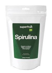 Bild på Superfruit Spirulina Pulver 400 g