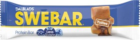 Bild på Swebar Less Sugar Toffee 50 g