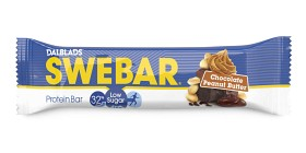 Bild på Swebar Low Sugar Chocolate Peanut Butter 50 g