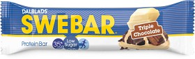 Bild på Swebar Low Sugar Triple Chocolate 50 g