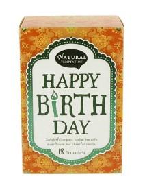 Bild på Natural Temptation Happy Birthday 18 tepåsar