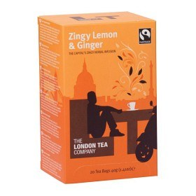 Bild på The London Tea Company Zingy Lemon & Ginger 20 st