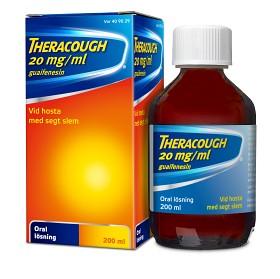 Bild på Theracough, oral lösning 20 mg/ml 200 ml