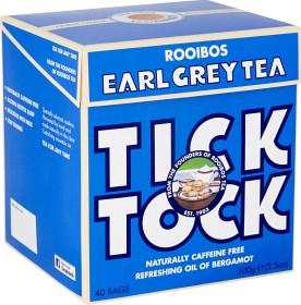 Bild på Tick Tock Rooibos Earl Grey 40 tepåsar