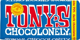Bild på Tony's Chocolonely Dark Chocolate 70% 180 g