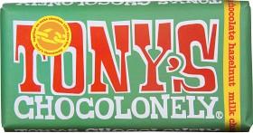Bild på Tony's Chocolonely Milk Chocolate Hazelnut 180 g