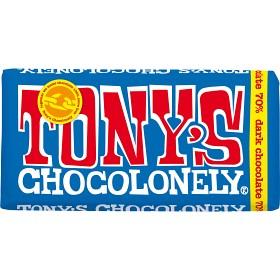 Bild på Tony's Chocolonely Dark Chocolate 70% 180 g