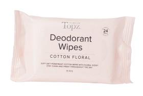 Bild på  Topz Deo Wipes Cotton Floral 15 st