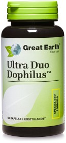 Bild på Great Earth Ultra Duo Dophilus 50 kapslar