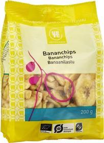 Bild på Urtekram Bananchips 200 g