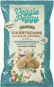 Bild på Veggie Peggy Kikärtschips Medelhavskryddor 75 g
