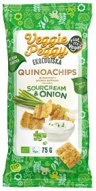 Bild på Veggie Peggy Quinoachips Sourcream & Onion 75 g