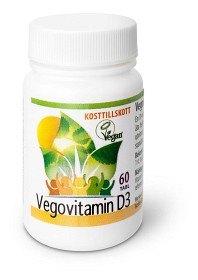 Bild på Vegovitamin D3 60 tabletter