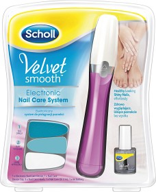 Bild på Velvet Smooth elektrisk nagelfil Rosa + nagelolja