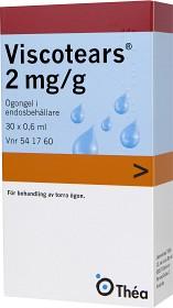 Bild på Viscotears, ögongel i endosbehållare 2 mg/g 30 x 0,6 ml