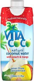 Bild på Vita Coco Kokosvatten Peach Mango 330 ml