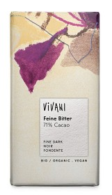Bild på Vivani Mörk Choklad 71% 100 g
