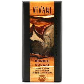 Bild på Vivani Mörk Choklad Nougat 100 g