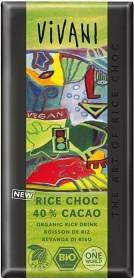 Bild på Vivani Rice Choc risdrycksbaserad 100 g