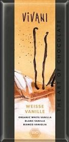 Bild på Vivani Vit Choklad Vanilj 100 g