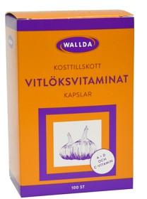 Bild på Wallda Vitlöksvitaminat 100 kapslar