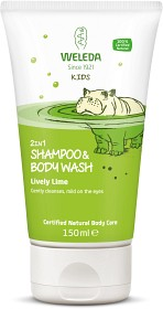 Bild på Weleda Kids Shampoo & Body Wash Lively Lime 150 ml