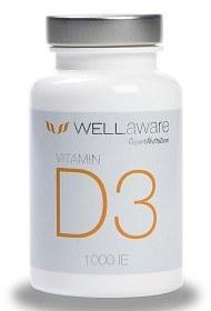 Bild på WellAware Vitamin D3 1000 IE 120 tabletter